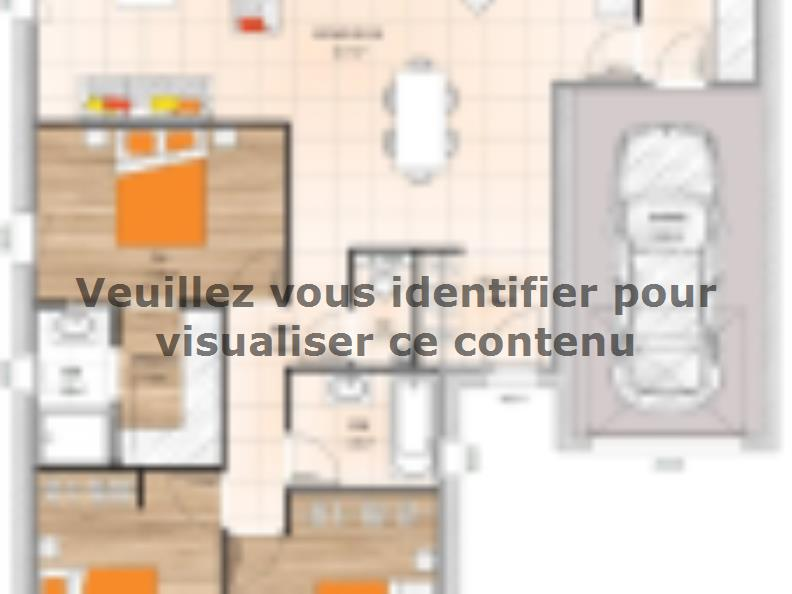 Plan de maison PP19106-3GI : Vignette 1