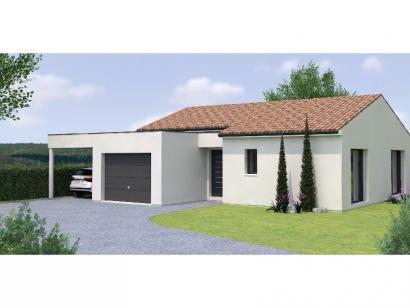 Modèle de maison PPL20111-3GI 3 chambres  : Photo 1