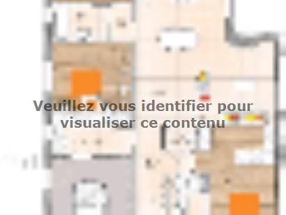 Plan de maison PPL20111-3GI 3 chambres  : Photo 1
