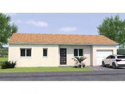 Modèle de maison PP2085-2GI 2 chambres  : Photo 1