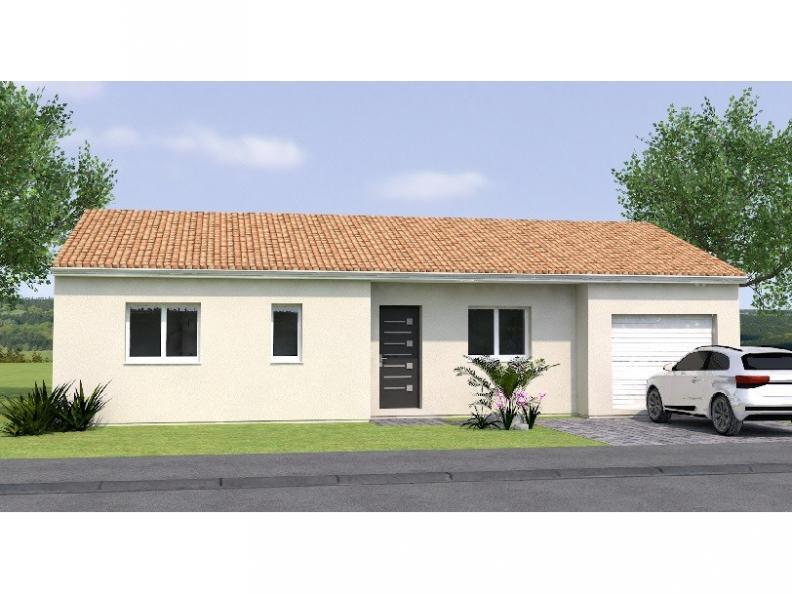 Modèle de maison PP2085-2GI : Vignette 1