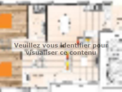 Plan de maison PP2085-2GI 2 chambres  : Photo 1