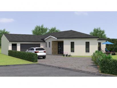 Modèle de maison PPY20119-3GA 3 chambres  : Photo 1
