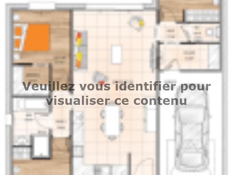 Plan de maison PPL2087-3GI : Vignette 1