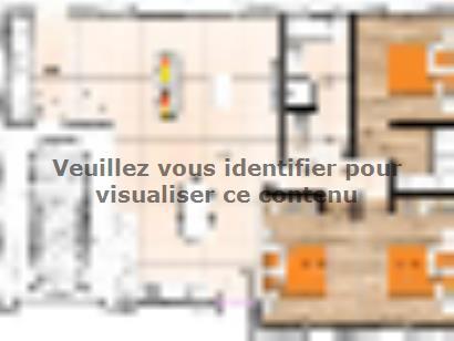 Plan de maison PP2089-3GI 3 chambres  : Photo 1