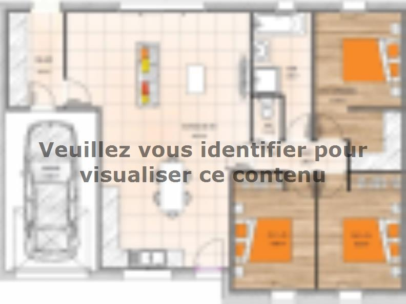 Plan de maison PP2089-3GI : Vignette 1