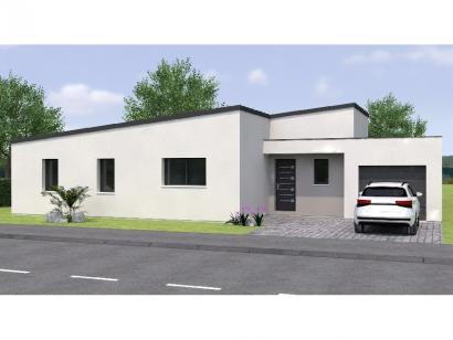 Modèle de maison PPMP2091-3GA 3 chambres  : Photo 1