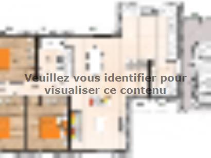 Plan de maison PPMP2091-3GA 3 chambres  : Photo 1
