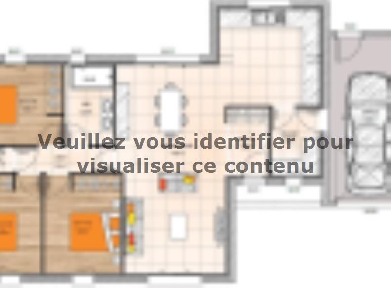 Plan de maison PPMP2091-3GA : Vignette 1