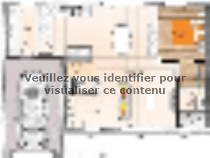 Plan de maison R120113-4GI 4 chambres  : Photo 1