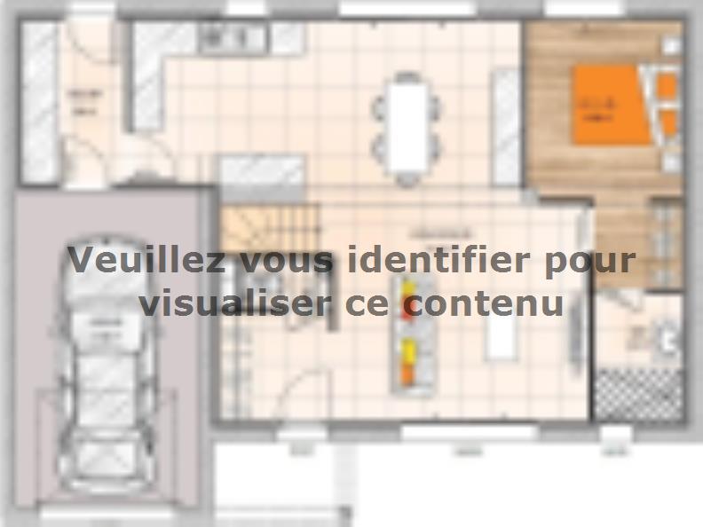 Plan de maison R120113-4GI : Vignette 1
