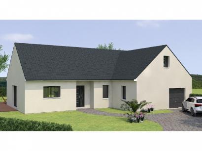 Modèle de maison PPL20118-3GI 3 chambres  : Photo 1