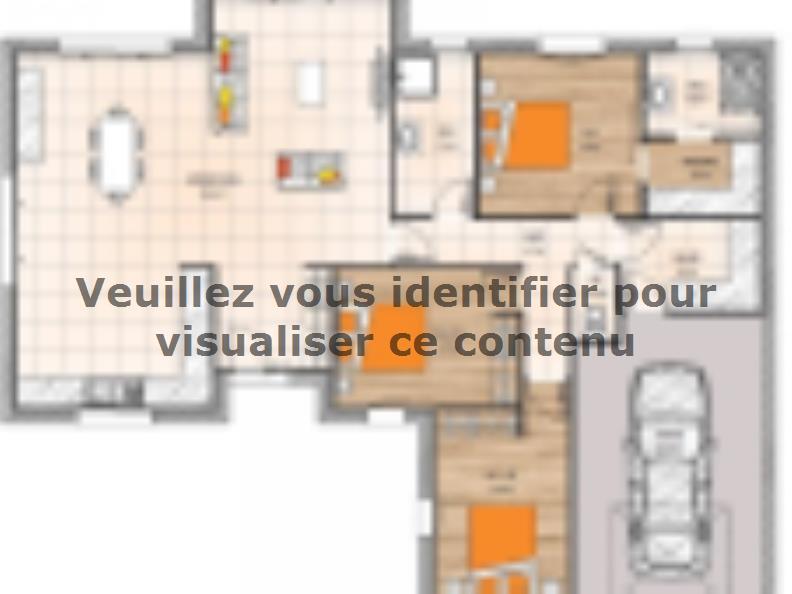 Plan de maison PPL20118-3GI : Vignette 1