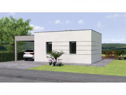 Modèle de maison PPTT2083-2B P 2 chambres  : Photo 1