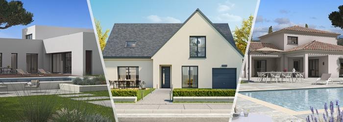 Maisons France Confort les types de toits