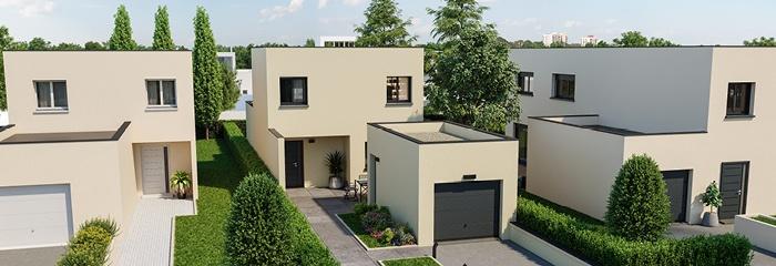 Maisons France Confort les toits plats