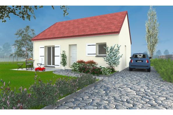 Modèle de maison PT_PP_2_65_SG_Sud 2 chambres  : Photo 1