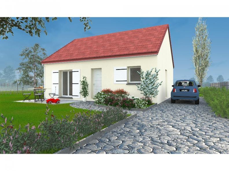 Modèle de maison PT_PP_2_65_SG_Sud : Vignette 1
