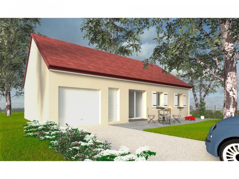 Modèle de maison PT_PP_3_85_GEF_Sud : Vignette 1