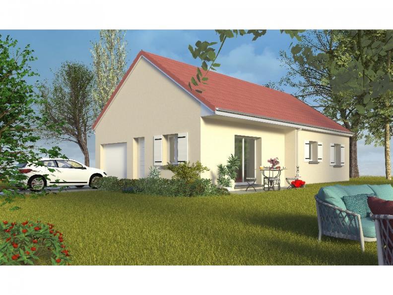 Modèle de maison PT_PP_3_75_GIP_Sud : Vignette 1