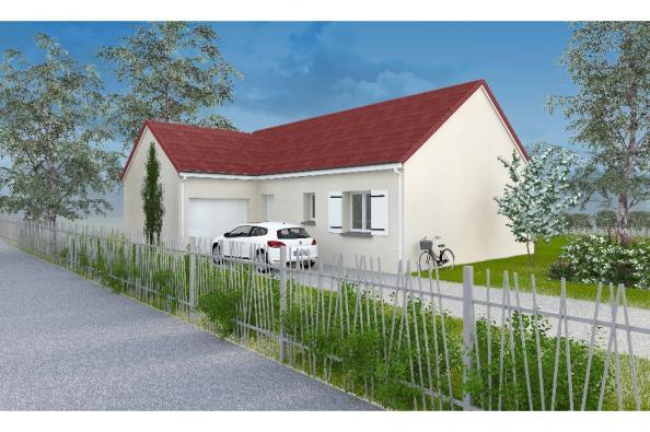Modèle de maison PT_PP_3_85_GAENL_Sud 3 chambres  : Photo 1