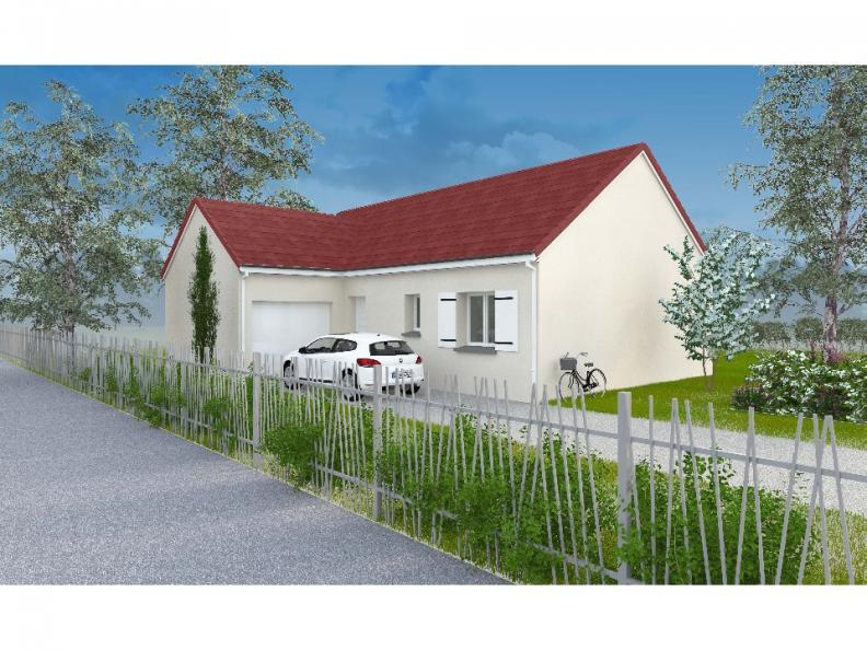 Modèle de maison PT_PP_3_85_GAENL_Sud : Vignette 1