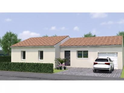 Modèle de maison PP20111-4GI 4 chambres  : Photo 1