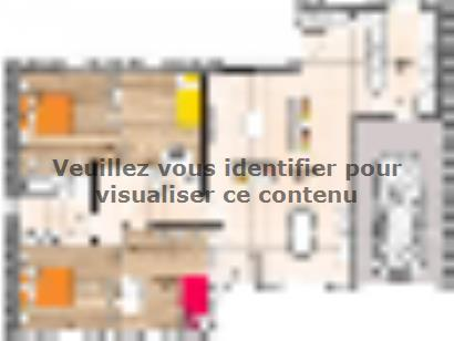 Plan de maison PP20111-4GI 4 chambres  : Photo 1