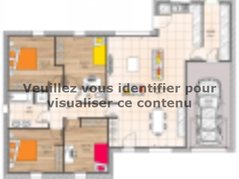 Plan de maison PP20111-4GI : Vignette 1