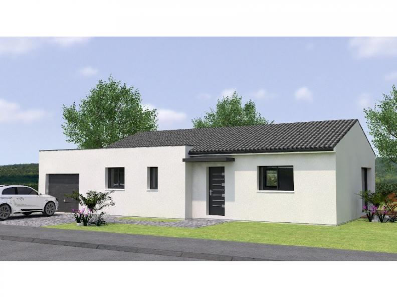 Modèle de maison PP2086-2GA : Vignette 1