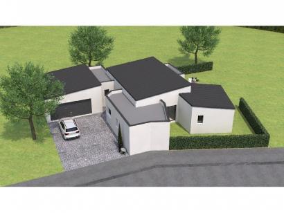 Modèle de maison PPYMP20130-3GA 3 chambres  : Photo 1