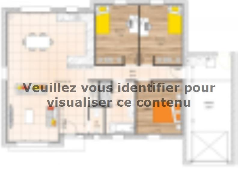 Plan de maison PP2094-3GA : Vignette 1