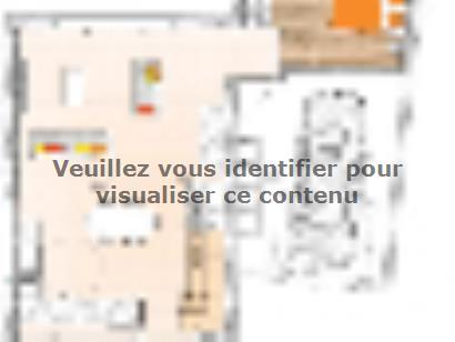 Plan de maison R120104-3MGI 3 chambres  : Photo 1