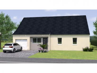 Modèle de maison PP20104-4GI 4 chambres  : Photo 1