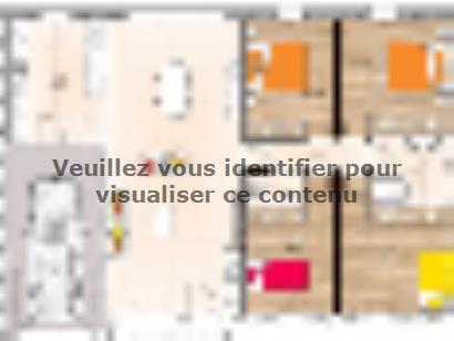 Plan de maison PP20104-4GI 4 chambres  : Photo 1