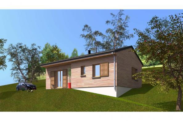 Modèle de maison PP60_P1854V5 2 chambres  : Photo 1