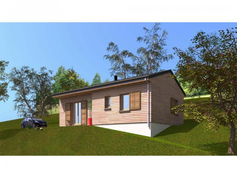 Modèle de maison PP60_P1854V5 : Vignette 1
