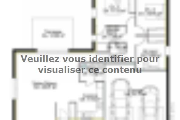 Plan de maison PP97_P1932V3 3 chambres  : Photo 1