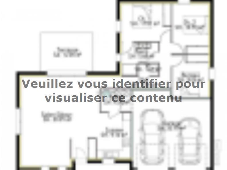 Plan de maison PP97_P1932V3 : Vignette 1