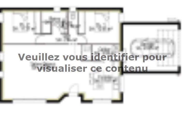 Plan de maison PP106_P1909V4 : Vignette 1