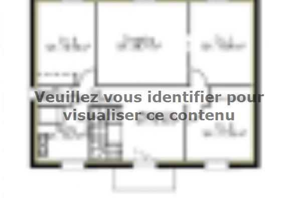Plan de maison PPE176_P1883V3 4 chambres  : Photo 2