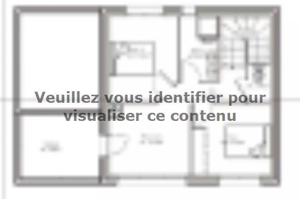 Plan de maison PPE148_P1820 3 chambres  : Photo 2