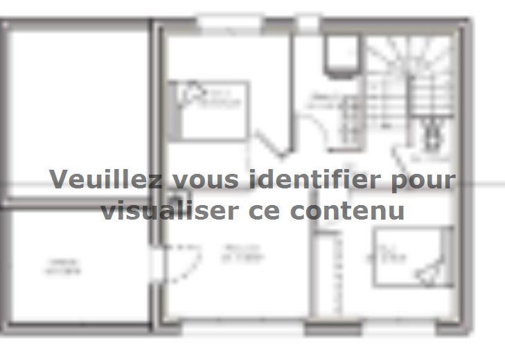 Plan de maison PPE148_P1820 : Vignette 2