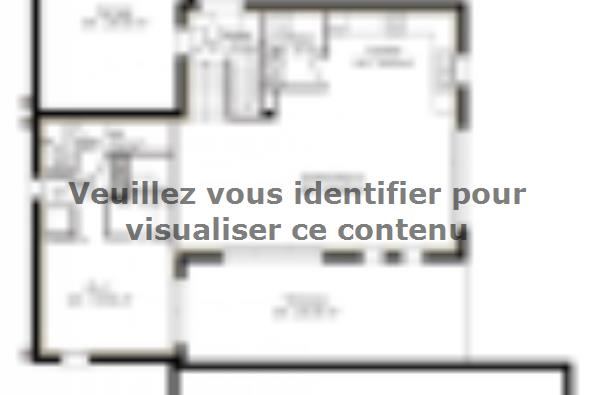 Plan de maison PPE143_P1150V2 4 chambres  : Photo 1