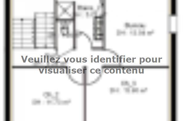 Plan de maison PPE143_P1150V2 4 chambres  : Photo 2