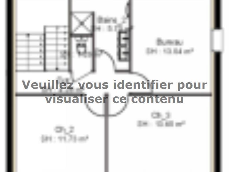 Plan de maison PPE143_P1150V2 : Vignette 2