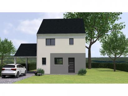 Modèle de maison R12099-3Bpréau 3 chambres  : Photo 1