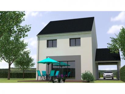 Modèle de maison R12099-3Bpréau 3 chambres  : Photo 2