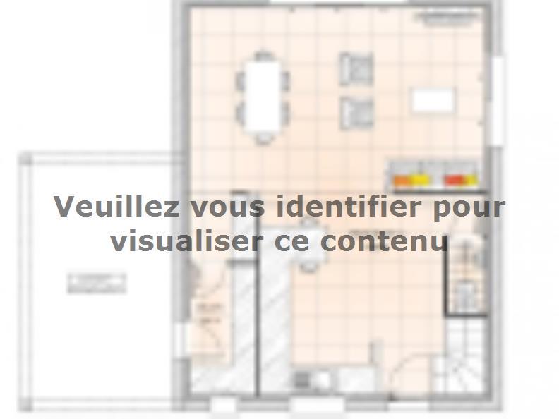 Plan de maison R12099-3Bpréau : Vignette 1