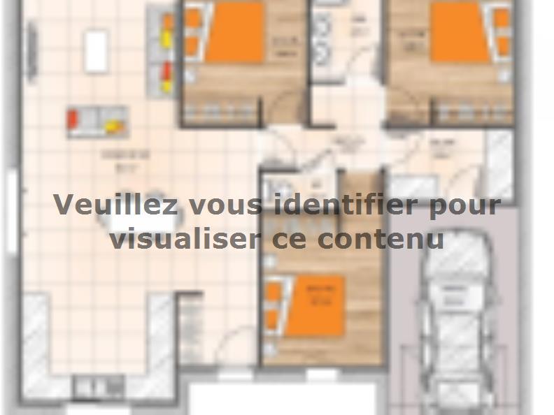 Plan de maison PP2093-3GI : Vignette 1